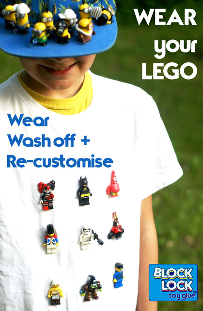 Lego glue to customise your brick builds accessories and clothes