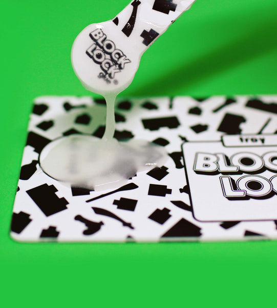 BLOCK LOCK Toy Glue - APPLICATION KIT to help apply glue