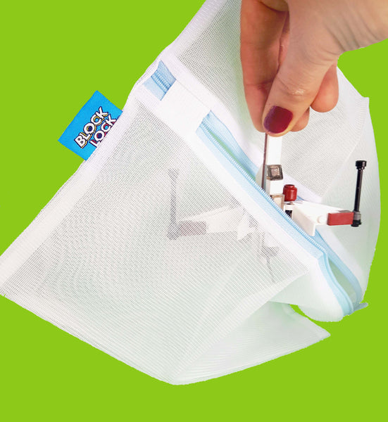 S-WASH Bag - WASH + STORE YOUR BRICKS AND BLOCKS - HANDY MESH BAGS