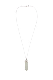 Jade Point Pendant Necklace