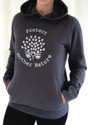 Protect Mother Nature Organic Hoodie