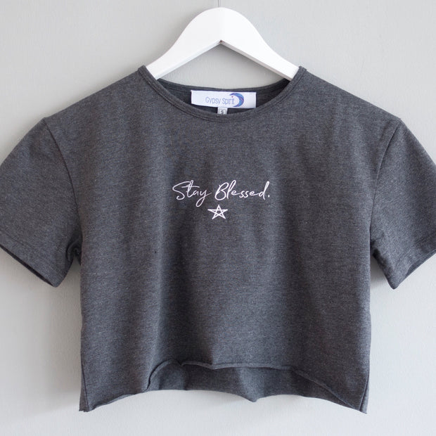 Stay Blessed Crop Top