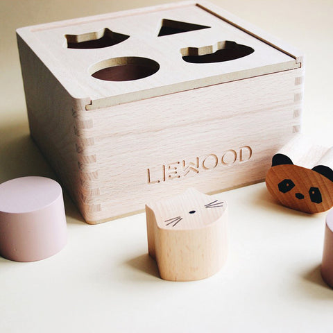 Liewood Mateo Wood Box Puzzle