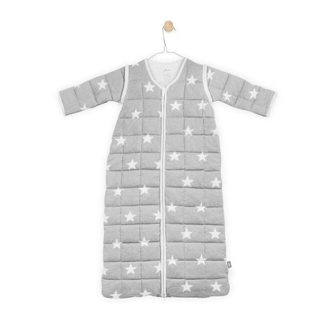 Jollein Sleeping Bag Removable Sleeves - Little Star Grey