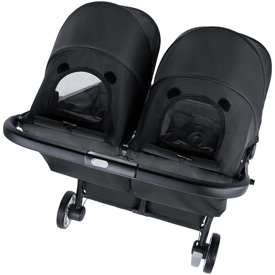 Baby Jogger City Tour 2 Double Stroller - Jet Black