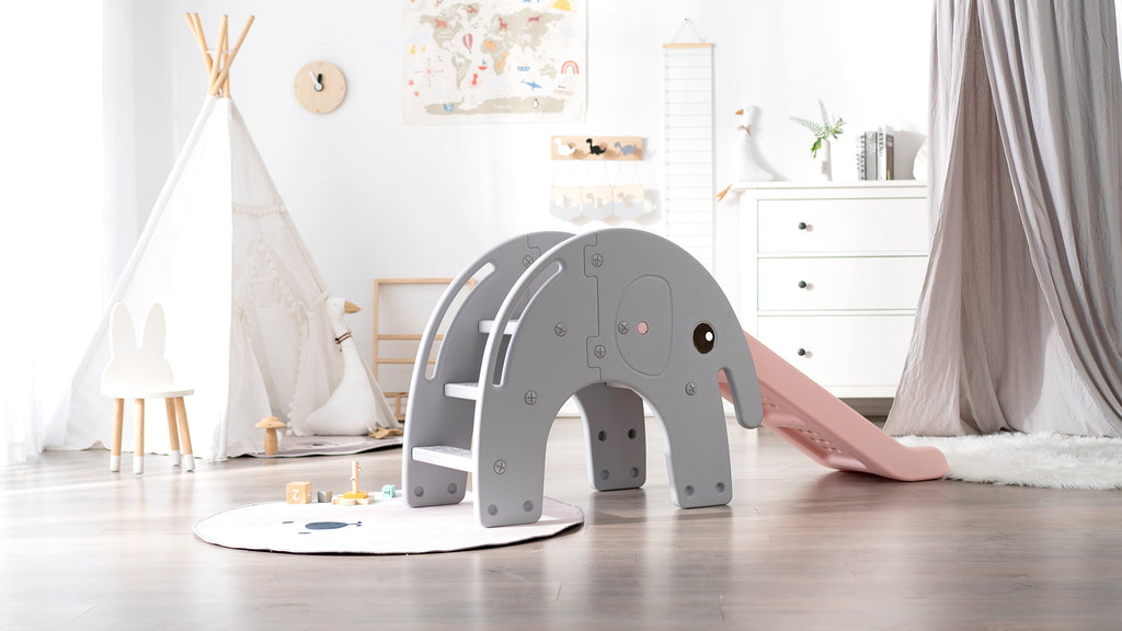 Kids Slide Hooga Kids Indoor or Outdoor Slide - Elephant