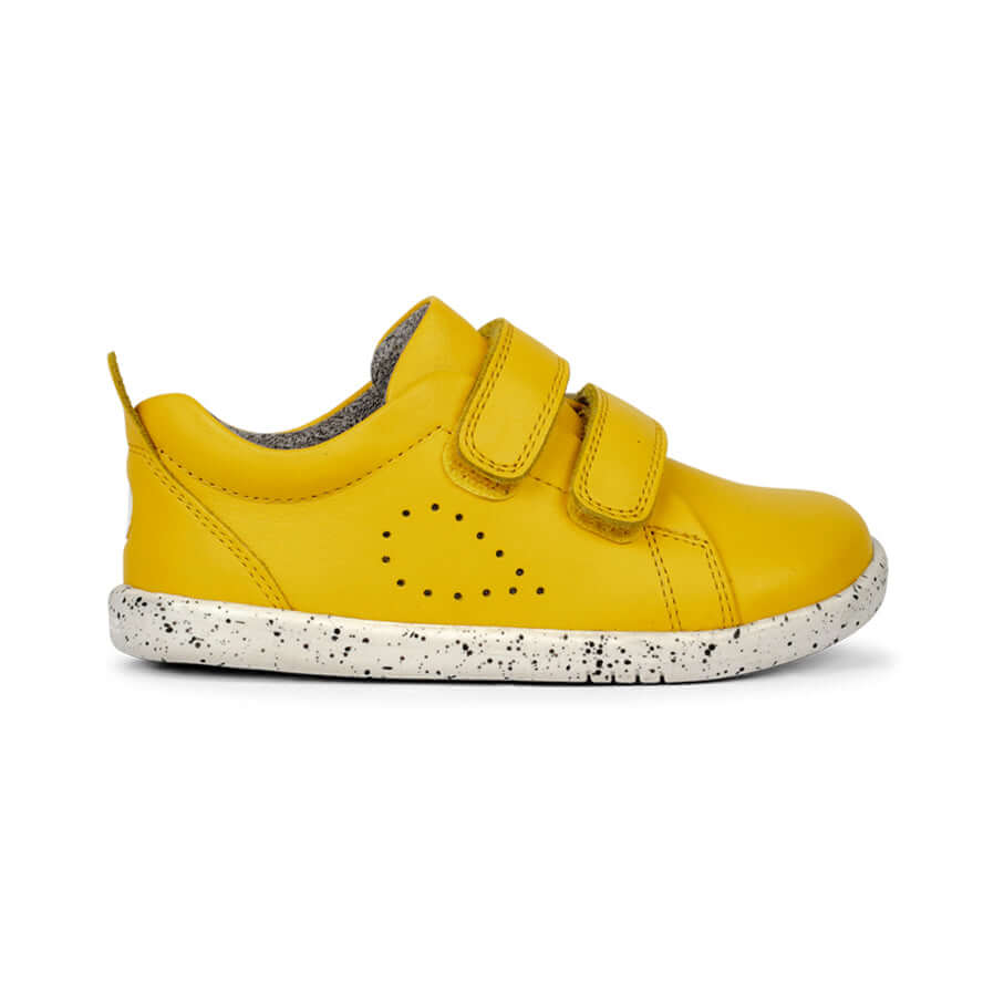 Bobux I-Walk Grass Court Trainers - Lemon