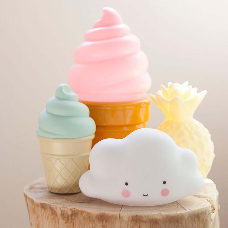 A Little Lovely Company Mini Night Light - Cloud