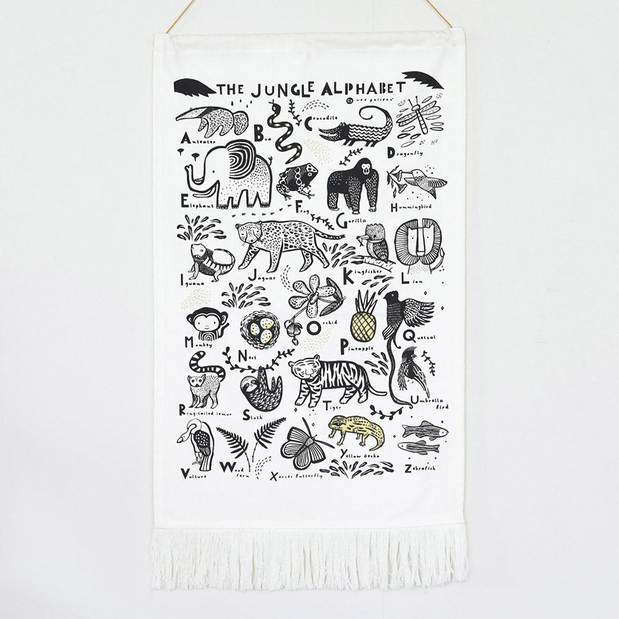 Wee Gallery Wall Hanging Printed Tapestry - Jungle