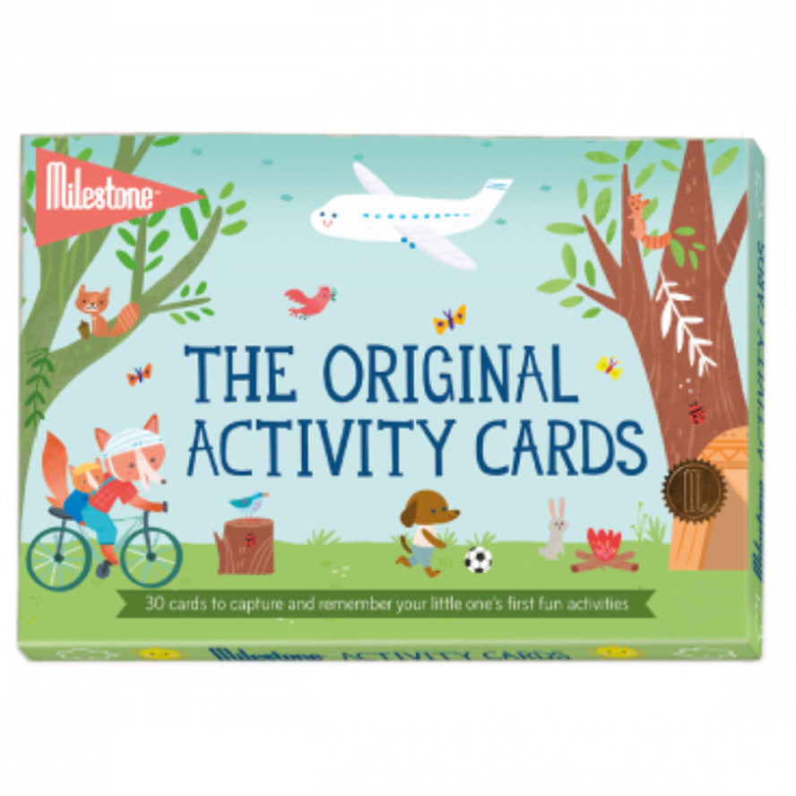 Milestone Original Activity Cards - First activities and trips