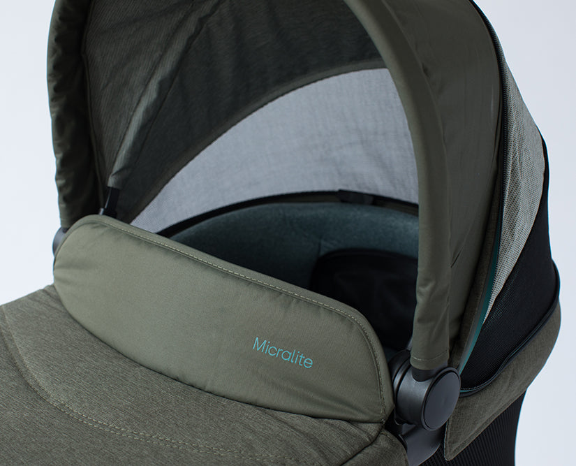 Micralite AirFlow Carrycot - Evergreen