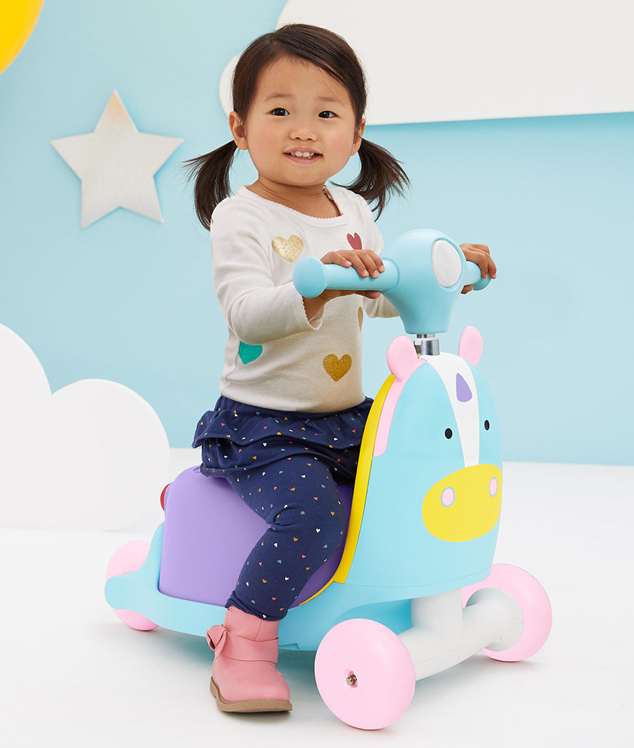 Skip Hop Zoo 3 in 1 Ride On Unicorn