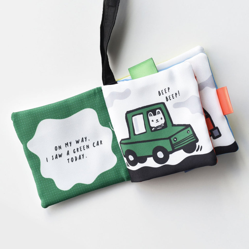 Wee Gallery Buggy Book - On My Way! A Wee World Of Vehicles