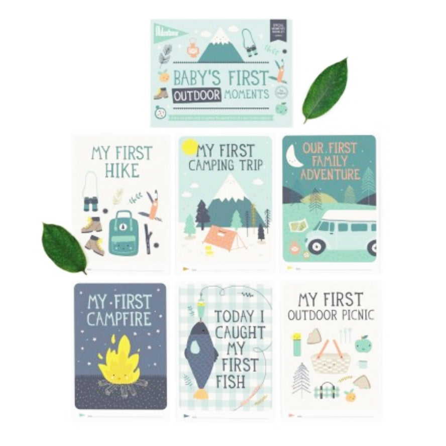 Milestone Cards Baby's First Outdoor Moments
