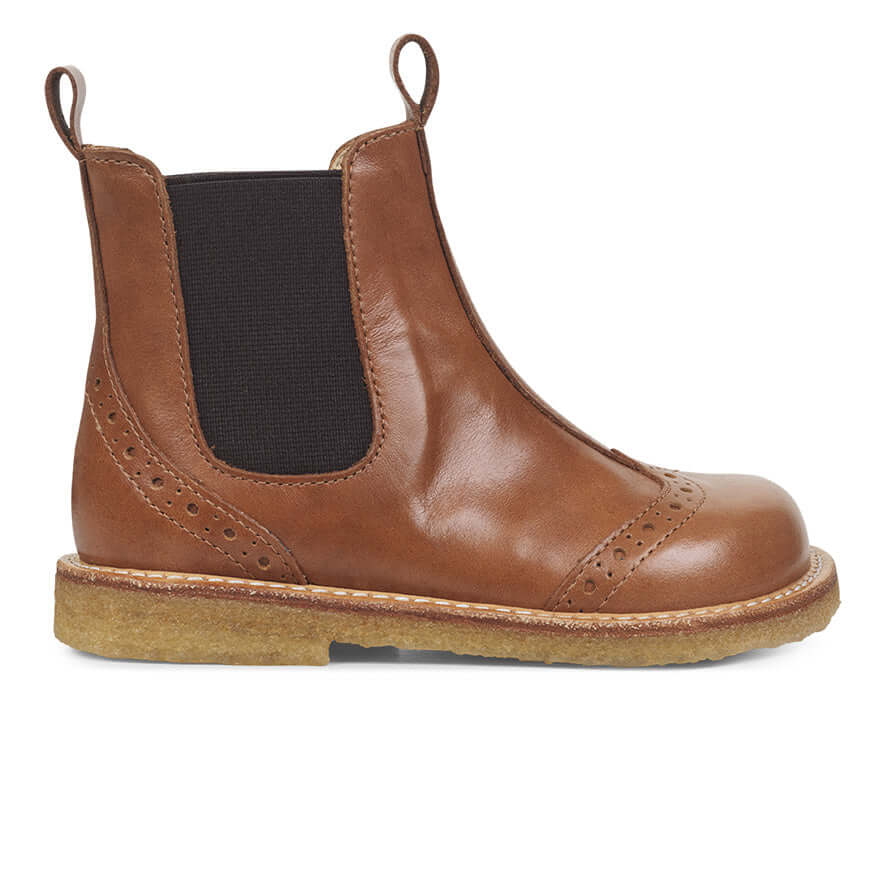 Angulus Leather Ankle Chelsea Boot