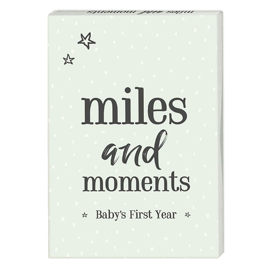 Milestone Cards Miles and Moments - Baby's First Year