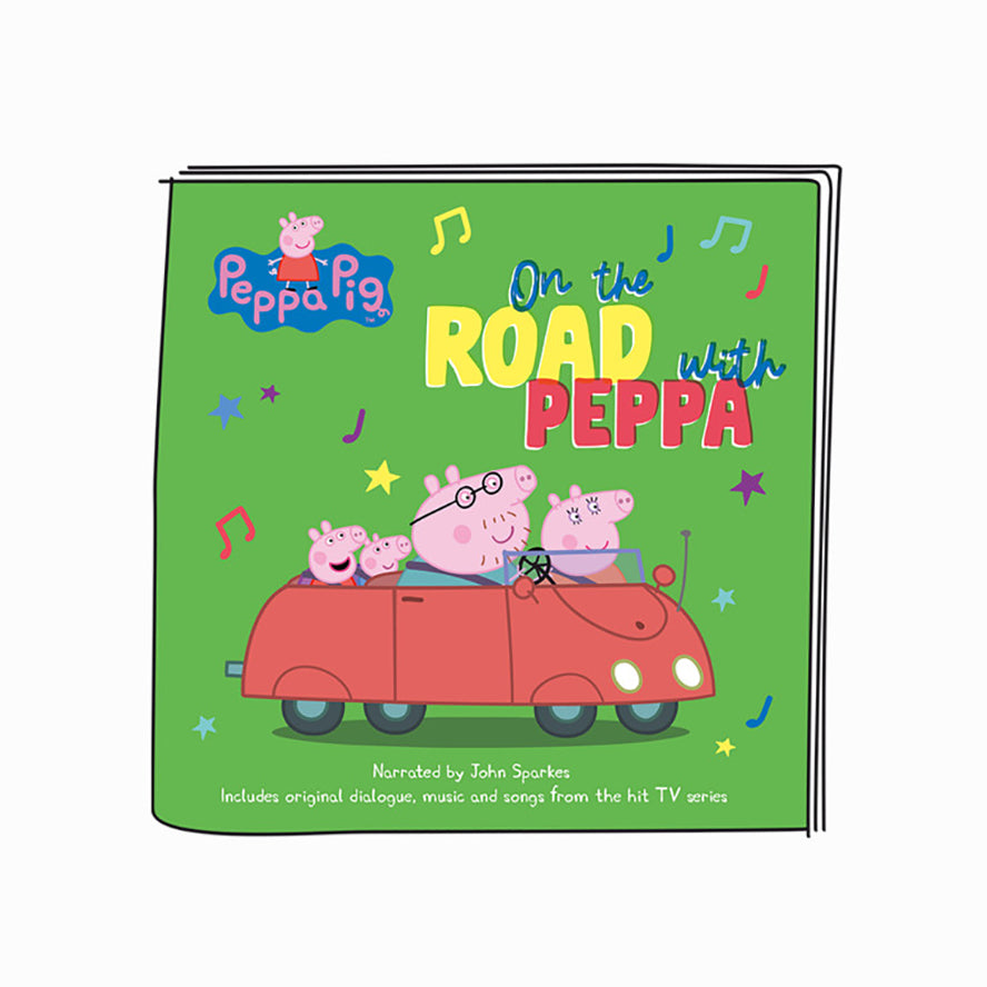 Tonies Peppa Pig On The Road With Peppa Pig  - Audio Character