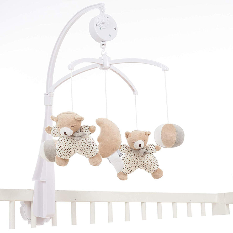 MiniDream Baby Music Mobile - Moon and Star