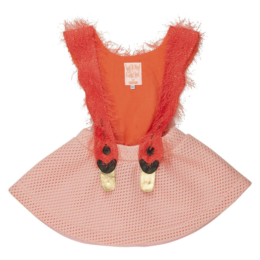 WAUW CAPOW by BANG BANG Copenhagen Bird Girl Dress - Pink