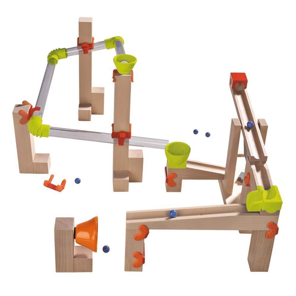 HABA Ball Track Basic Pack Sound Race
