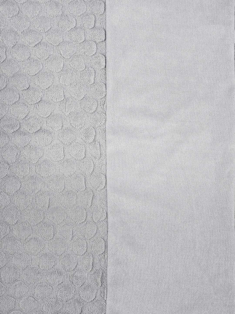 Jollein Knitted Changing Mat Cover - Grey