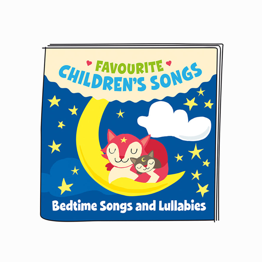 Tonies Favourite Children's Songs Bedtime Songs and Lullabies - Audio Character