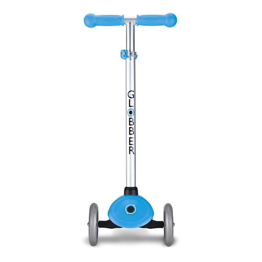 Globber Primo Lights Scooter - Sky Blue