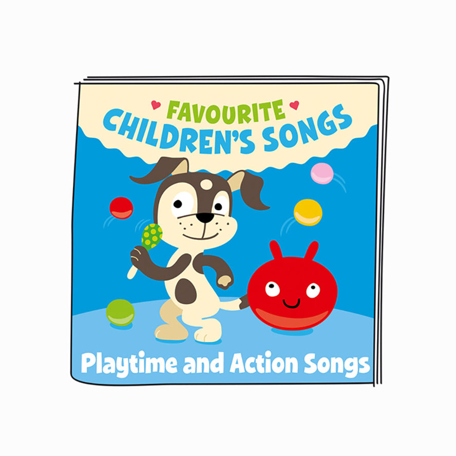 Tonies Favourite Children's Songs Playtime and Action Songs - Audio Character