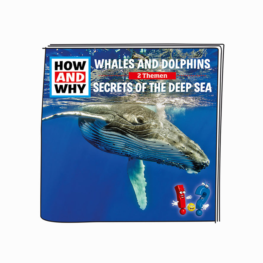 Tonies How and Why Dolphins and Wales/ Secrets Of The Deep Blue Sea - Audio Character