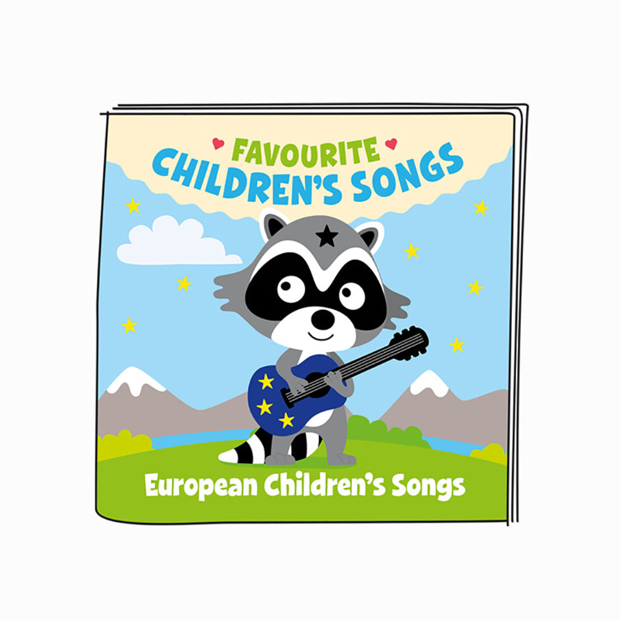 Tonies Favourite Children's Songs European Children's Songs - Audio Character