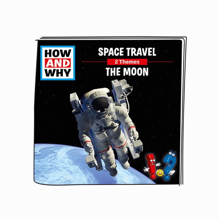Tonies How and Why Space Travel / The Moon - Audio Character