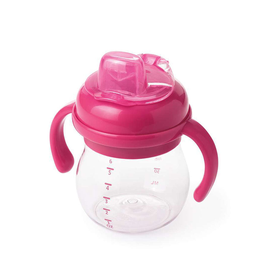 OXO Tot Transitions Soft Spout Sippy Cup with Removable Handles