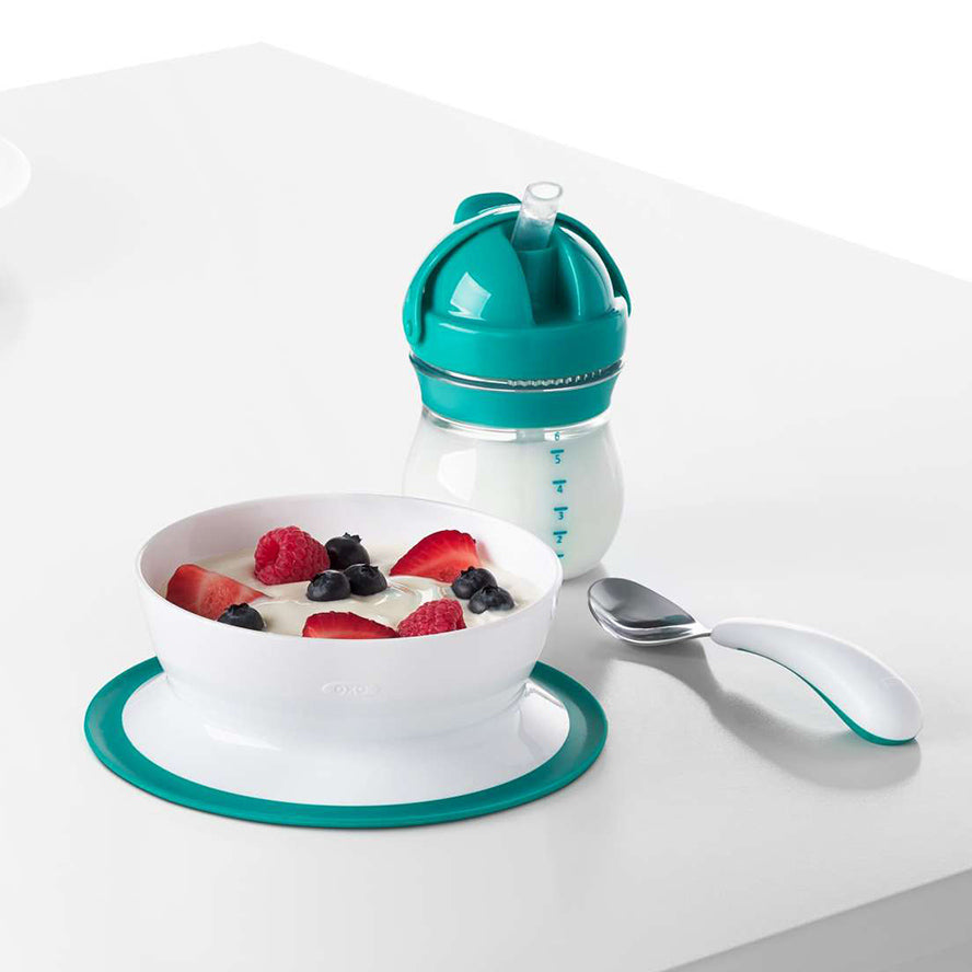 OXO Stick & Stay Suction Bowl - Teal
