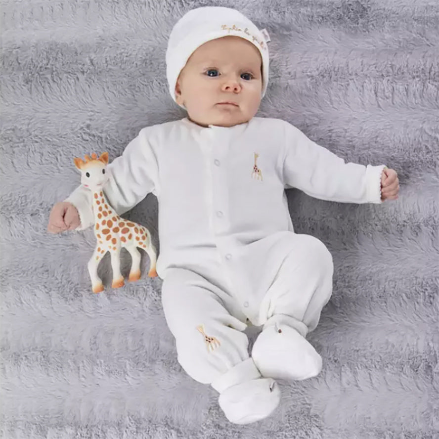 Sophie La Girafe So' Pure Newborn Gift Set - My Birth Outfit