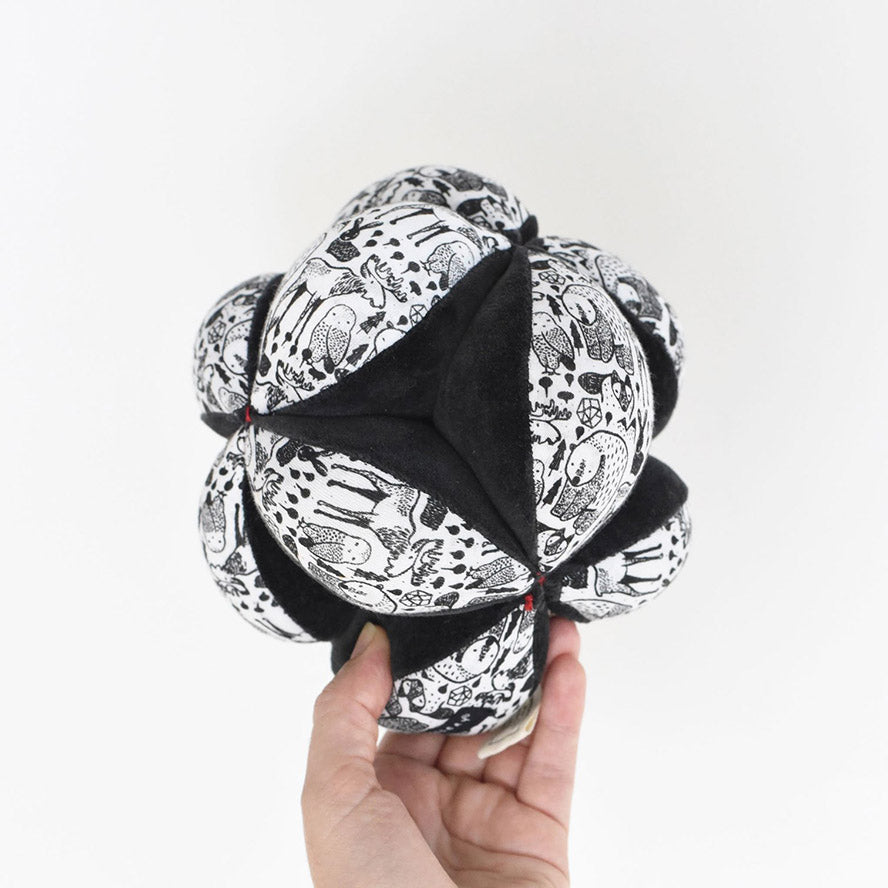 Wee Gallery Sensory Clutch Puzzle Ball - Nordic