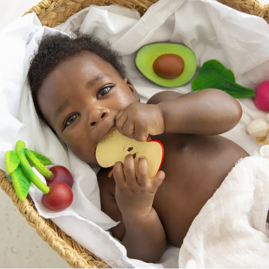 Oli & Carol Chewable Teether - Ramona The Radish