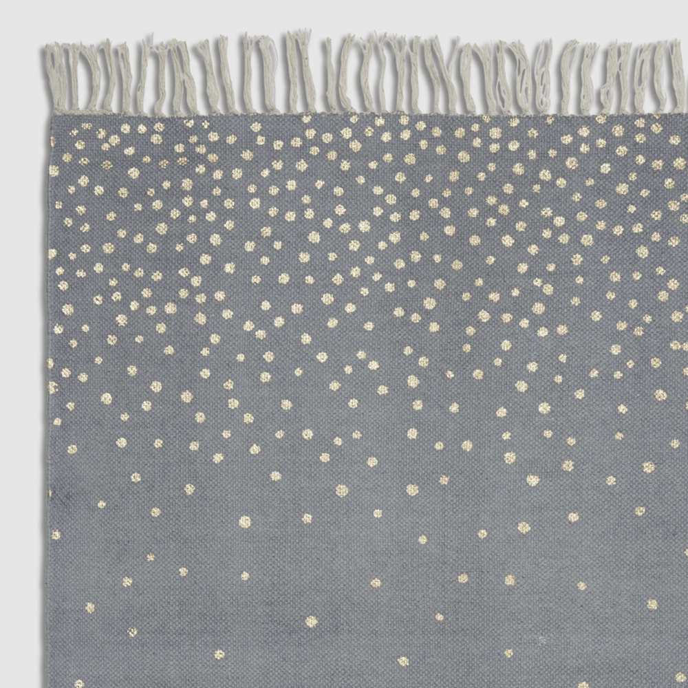 Done by Deer Rug Kids Floor Mat- Gold and Grey