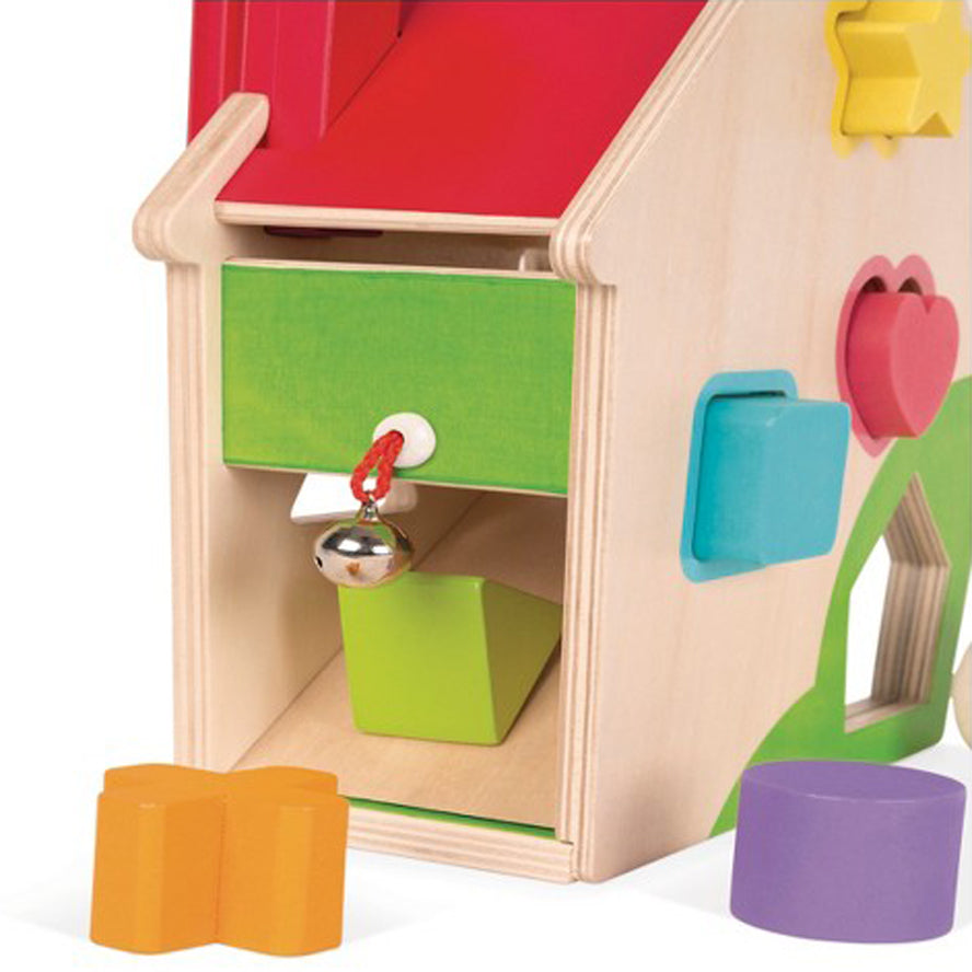 Janod Wooden Toys - Zigolos Hen Activities House
