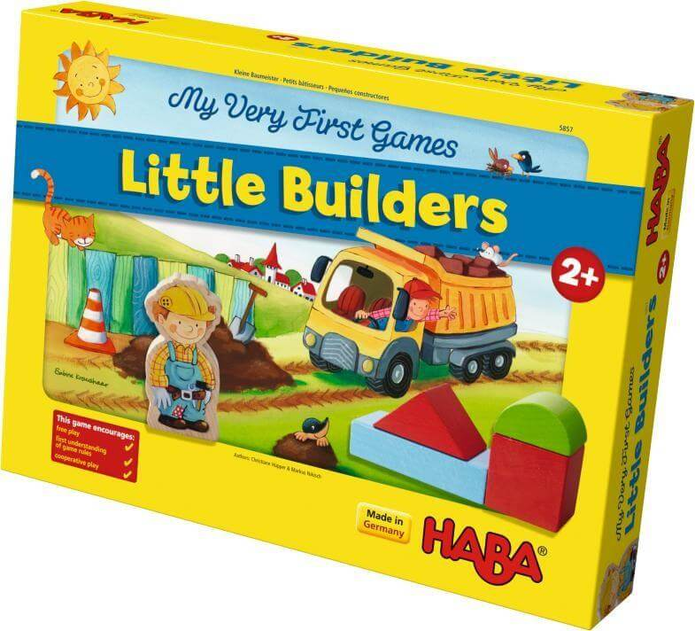 HABA Toys My Very First Games – Little Builders