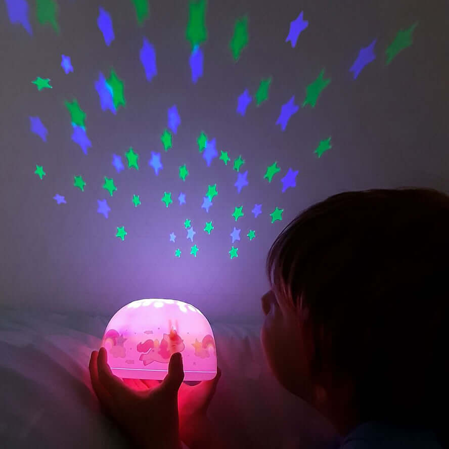 A Little Lovely Company Projector Night Light - Unicorn