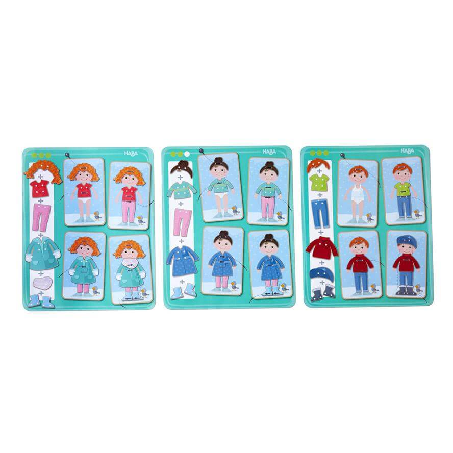 HABA Threading Game Dress me 36 Pieces