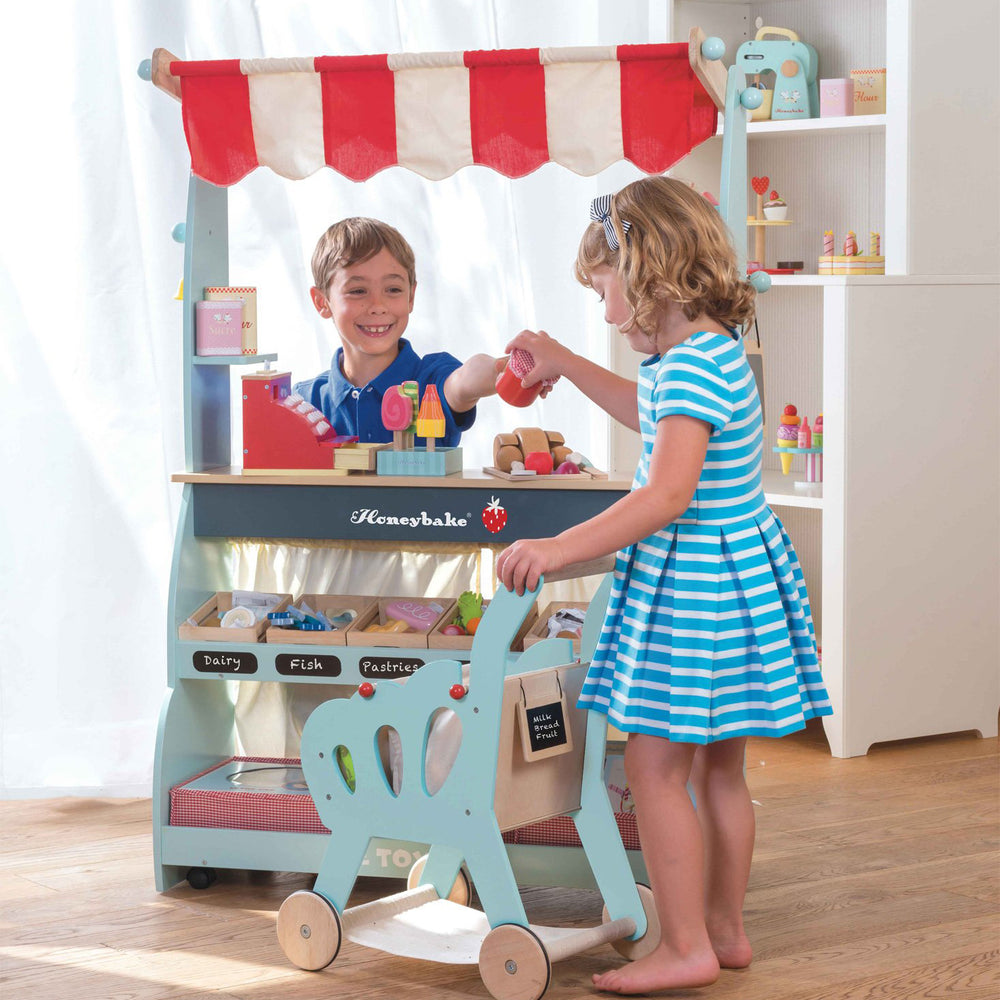 Le Toy Van Role Play Honeybake Shop & Cafe