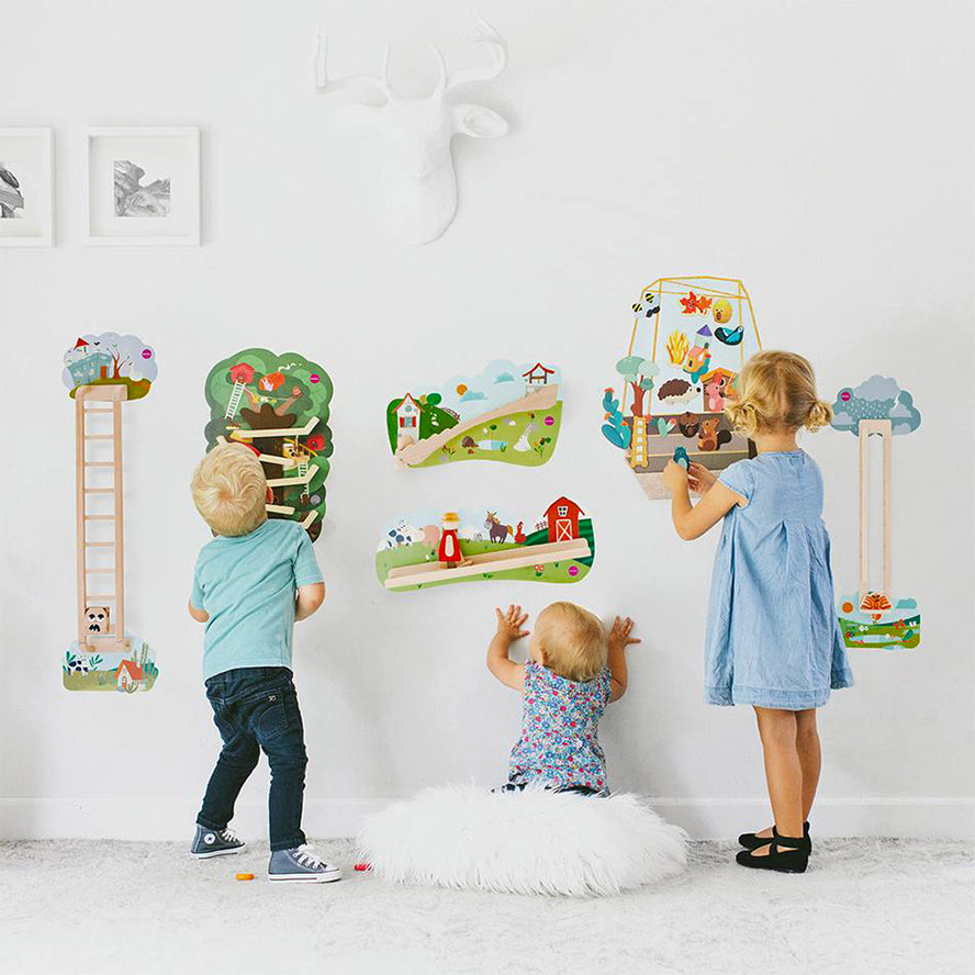 Oribel Vertiplay Wall Toy - Jack and Jill