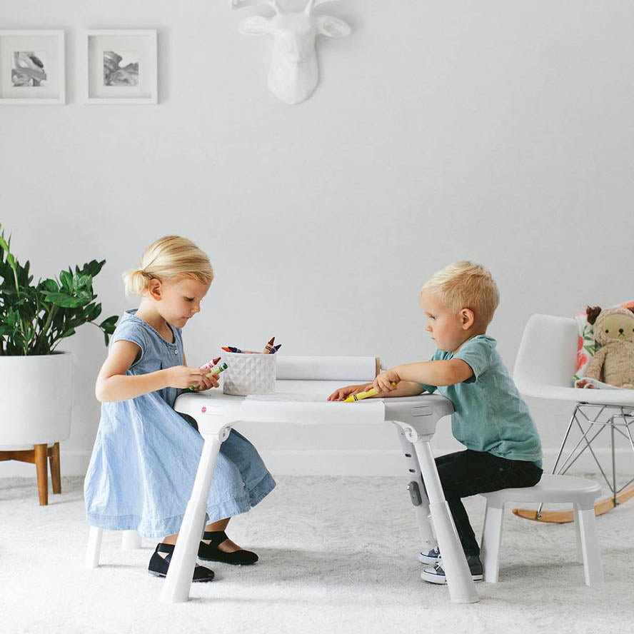 Oribel Portaplay Convertible Activity Centre with 2 Stools - Wonderland