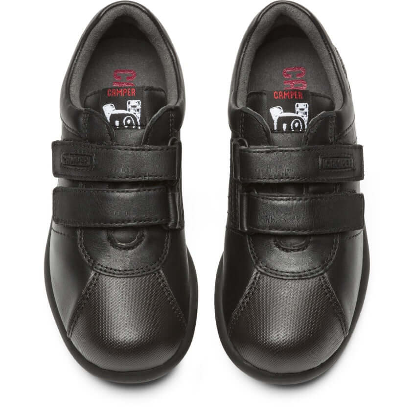 Camper Pelotas Boys School Shoes - Black