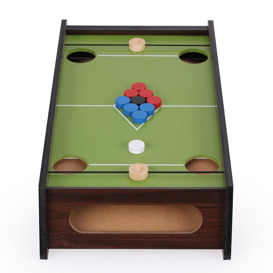UDEAS Desktop Wooden Billiard Table Top Game