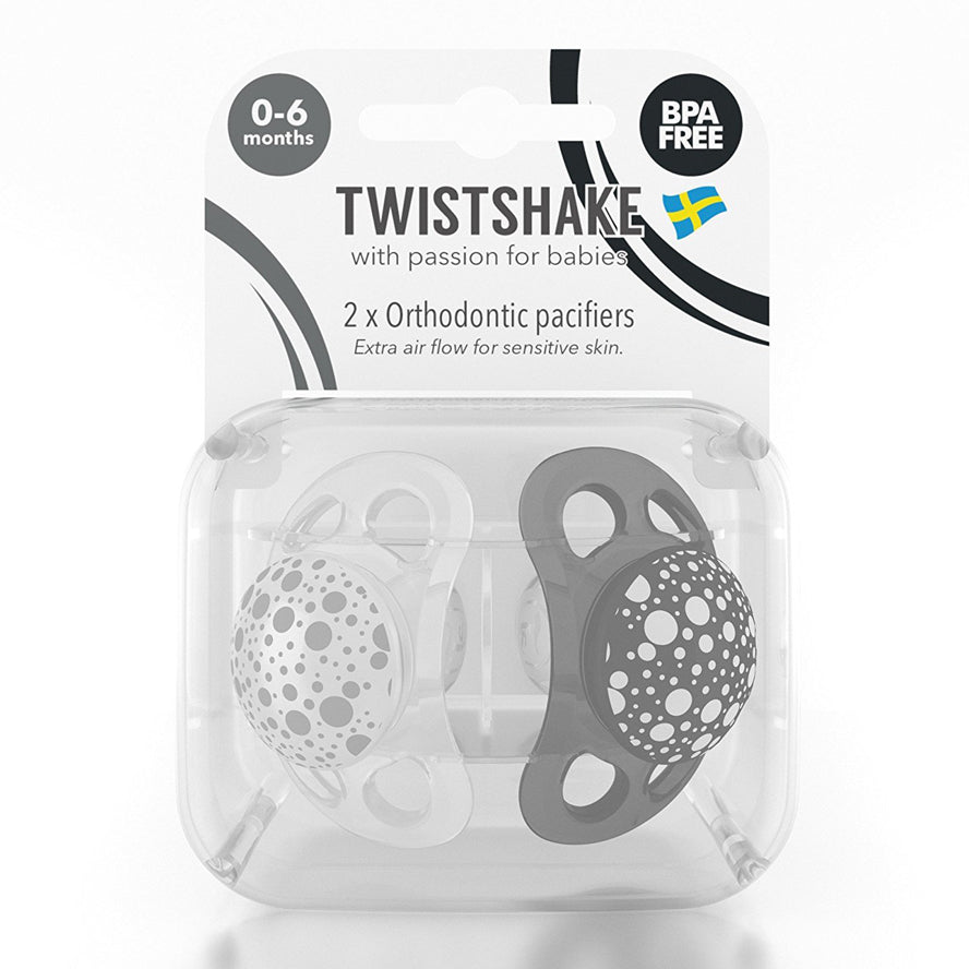 Twistshake Pacifier 2 Pack Soothers