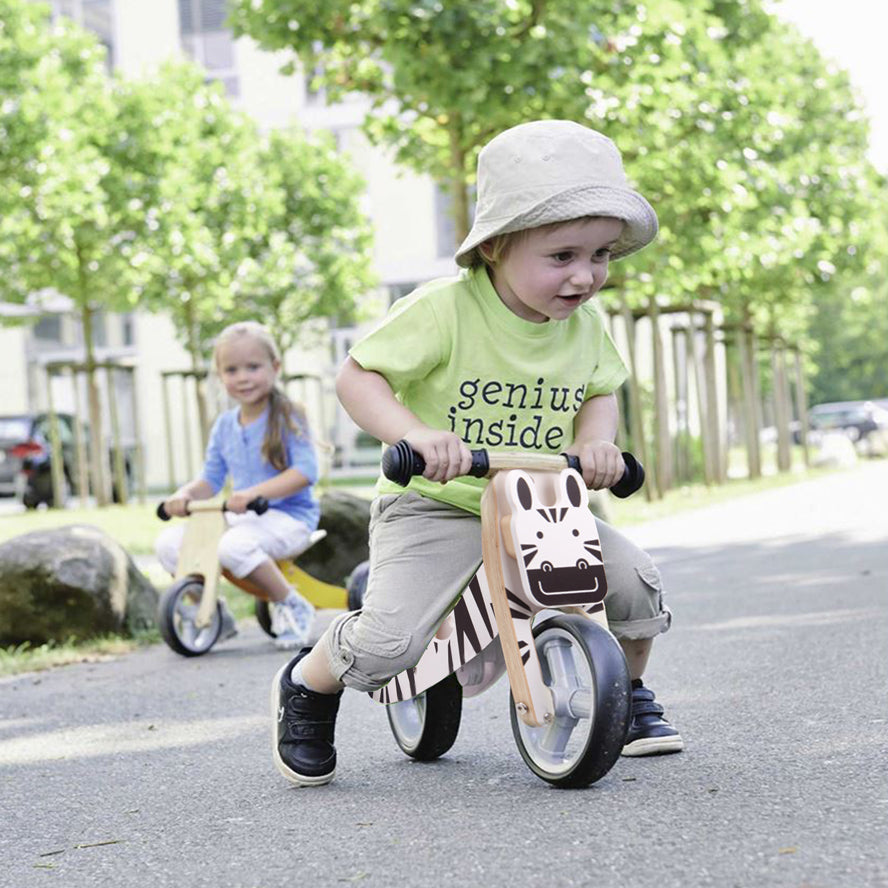 Varoom 2 in 1 Mini Wooden Balance Bike - Zebra