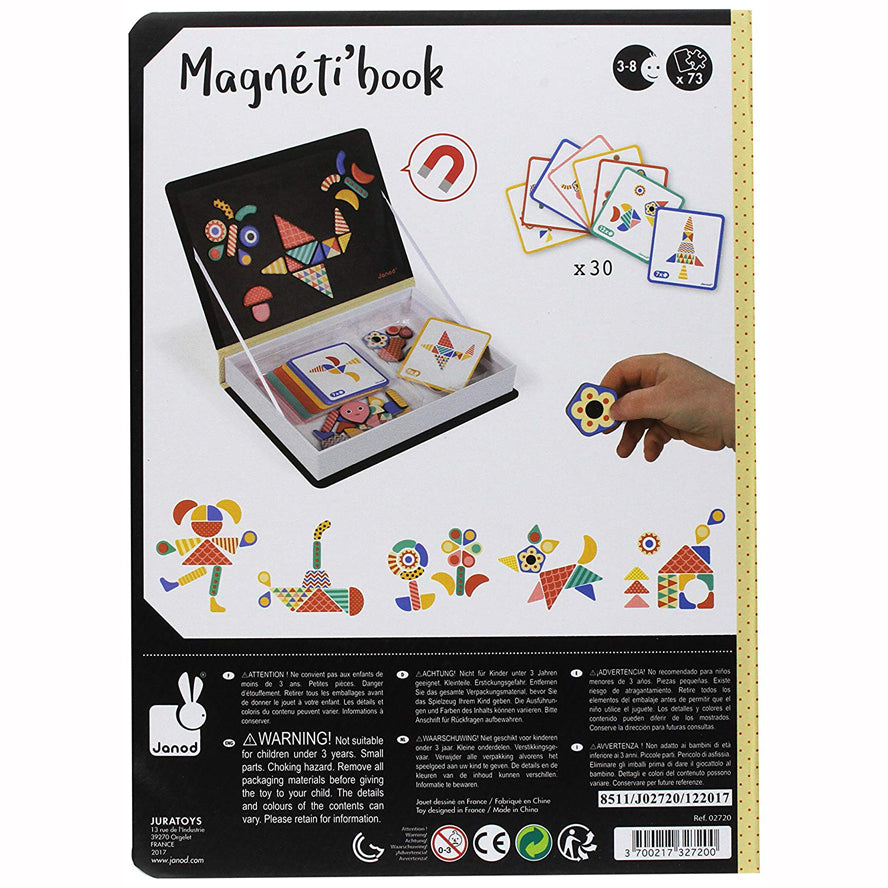 Janod Moduloform Magnetic Book