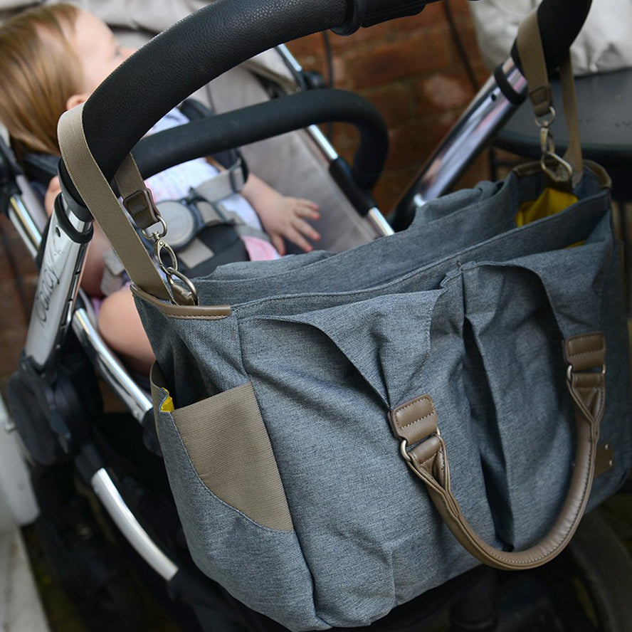 Koo-di Lottie Baby Changing Bag - Grey